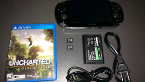 PS VITA and Uncharted golden abyss