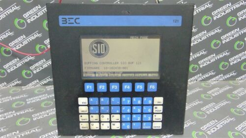 USED BEC Elektronik AS BUF-121-SIO Operator Interface BEC 121 Dual I/O