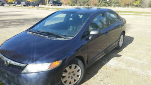2007 Honda Civic Sedan Automatic, 150,000Km $6000
