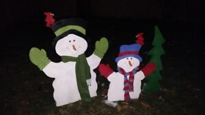 New Christmas Outdoor Decoration Snowmen