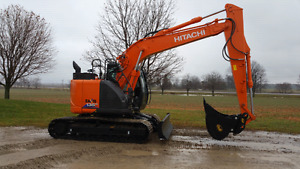 2016 Hitachi zx135us never used