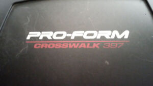 PROFORM CROSSWALK TREADMILL FOR SALE