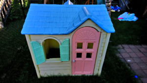 Outdoor toddler house