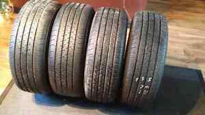 Four Michelin 14 inch tires