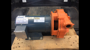 Pair of 3 phase 5HP electric motor & pump