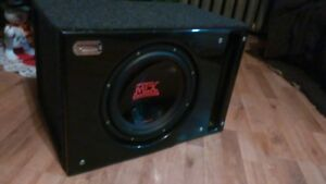 MTX TC712 SUBWOOFER IN A PORTED SLEDGEHAMMER BOX 4 SALE OR TRADE