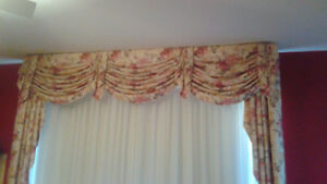 Beautiful Valence and curtains