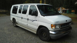 Ford E150 Van: Nomad wagon. Converted incognito queen sleeper!
