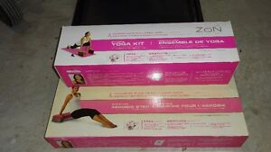 YOGA KIT AND AEROBIC STEP FOR SALE