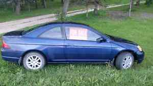 2002 Honda Civic $2500 as is, OBO
