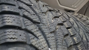 LIKE NEW 225-60-17 Directional Snow Tires