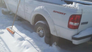 2006 Ford Ranger 2WD FOR PARTS OR REPAIRS SALVAGE TITLE