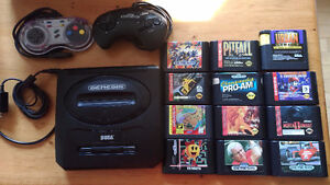Sega Games, controllers and console NO POWER cord
