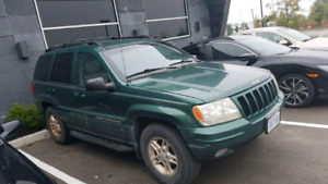 Jeep Grand Cherokee limited LOW KMS! Trade or cash