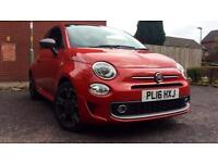 2016 Fiat 500 1.2 S 3dr Manual Petrol Hatchback