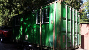 Shipping Container Office / Home Modification