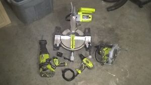Ryobi Power Tools (6 months old) $200.00 OBO