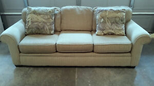 High Quality Large upholstered/scotch guarded sofa for sale Kitchener / Waterloo Kitchener Area image 1