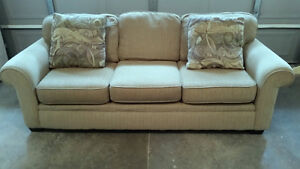 High Quality Large upholstered/scotch guarded sofa for sale