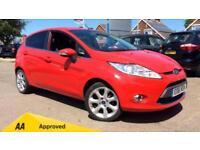2011 Ford Fiesta 1.4 Zetec 5dr Manual Petrol Hatchback