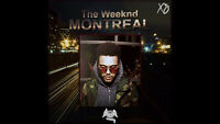 The Weeknd 24 November 2015 RED 104 !!6 SIDE BY SIDE