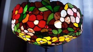 beautiful tiffany floor lamp