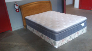 Delivered queen size bed complete