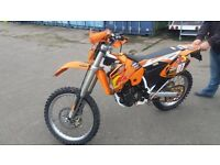 Ktm 510 road legal enduro