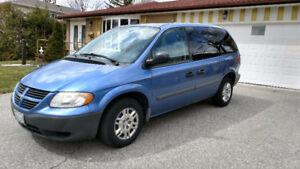 2007 Dodge Caravan Minivan- Only 111,333 Km- Very Clean - No Tax