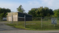 STORAGE COMPOUND/ FENCED /FOR RENT