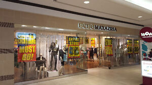 All Store Furniture & Fixtures for sale at BCBG Richmond Mall