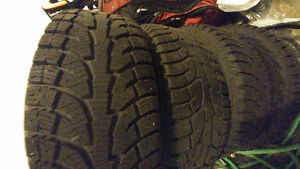 """Hankook winter 245/75/17 with mags 5x114.3 17"""" combo West Island Greater Montréal image 1"""