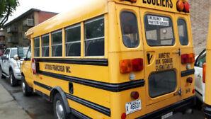 Autobus scolaire à vendre