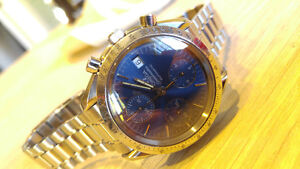 Omega Watch Speedmaster Date Automatic Blue Dial 3511.80 Windsor Region Ontario image 8