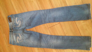 """Silver """"Tuesdays"""" jeans"""