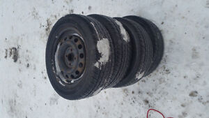 Tires for honda and rims for ford