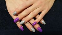 Gels nails $55 only for the Labour Day Weekend