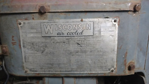 Wisconsin Air Cooled Engine