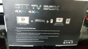 Android TV Box $70 pick up east
