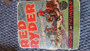 RED RYDER and Little Beaver Book