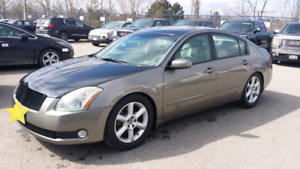 2004 Nissan Maxima Saftey Certified and Etested