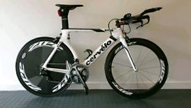 Cervelo P3 Carbon TT bike with size 54 frame, Dura-Ace
