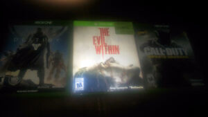 Xbox one games for trade.