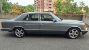 1989 Mercedes 300SE CERTIFIED
