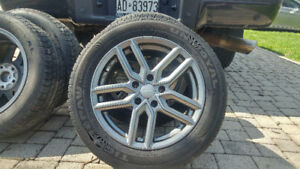 Rims and Tires from Volkswagen Passat