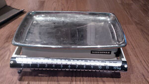 antique soehnle scale with box