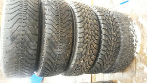 REDUCED!!  5 NORDIC WINTER TIRES 185/65R/14 FOR SALE