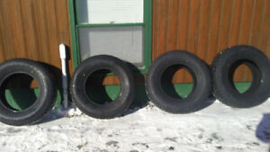 NEW TIRES FOR SALE 265/70/17