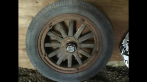 Essex wheel 1920s? Stored in barn for decades