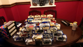 120+ boxed collectable cars